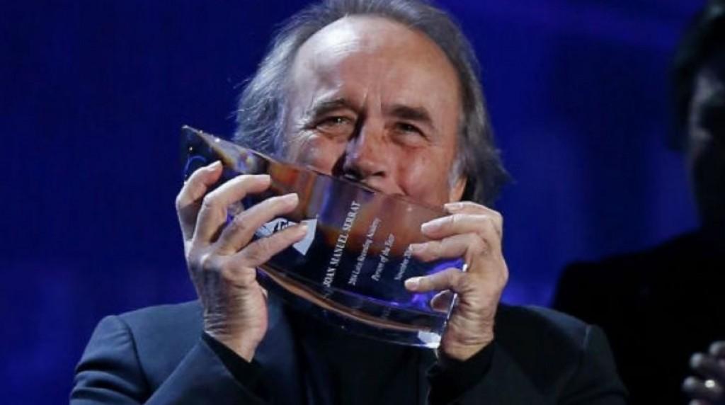 El prestigioso Grammy de Serrat y su repercusión mediática