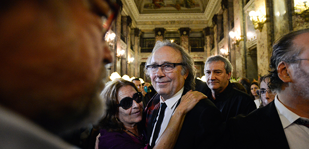 Serrat se despide de su amigo Eduardo Galeano