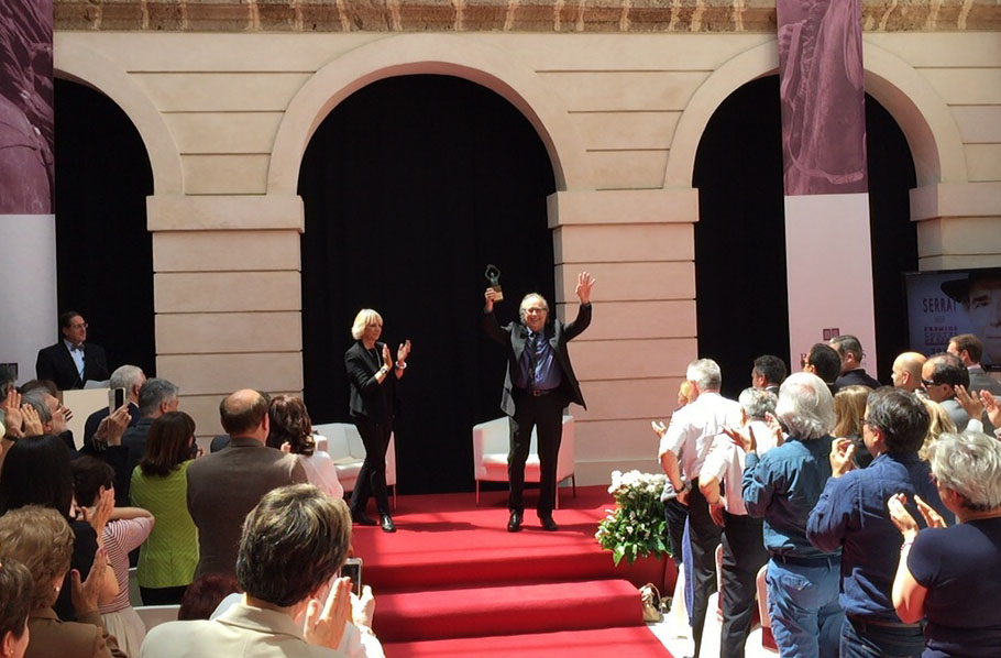 Joan Manuel Serrat Premio Cortes de Cádiz de Música