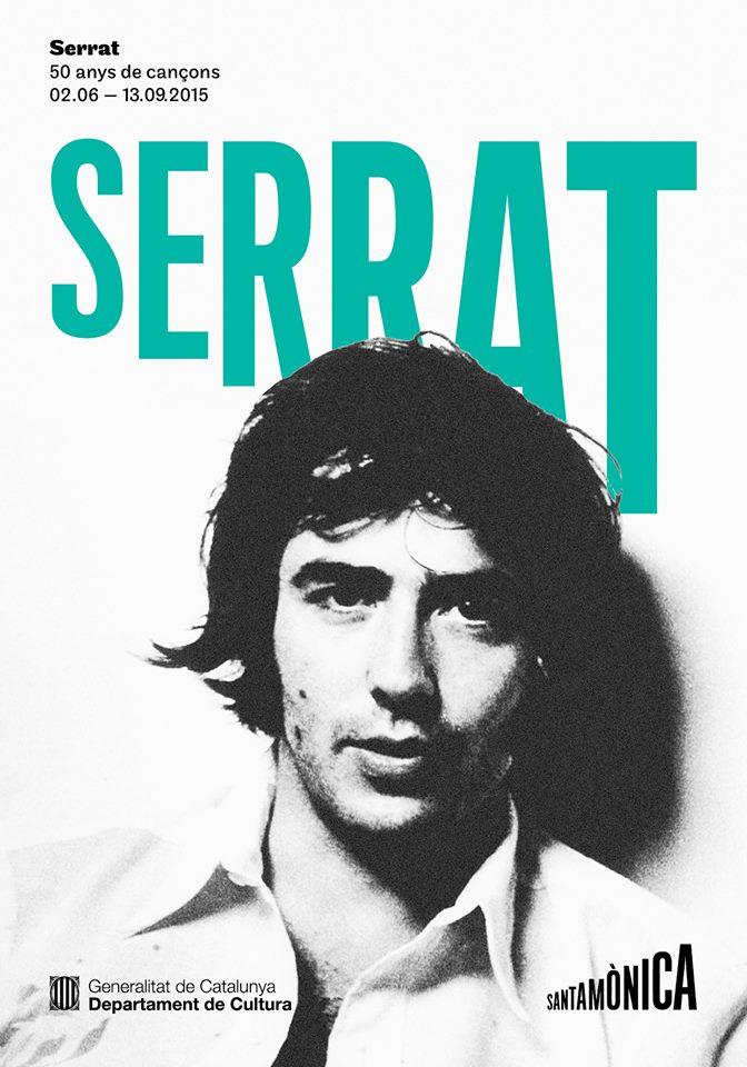 """Exposición """"Serrat: 50 anys de cançons"""" (50 años de canciones)"""