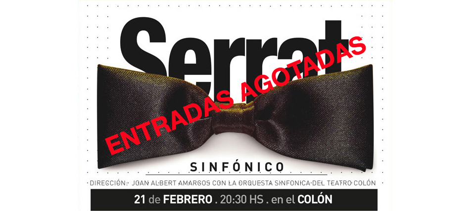 Ya están a la venta las entradas del Festival Únicos en el Colón: Serrat, Il Divo, Lali y Tini Stoessel