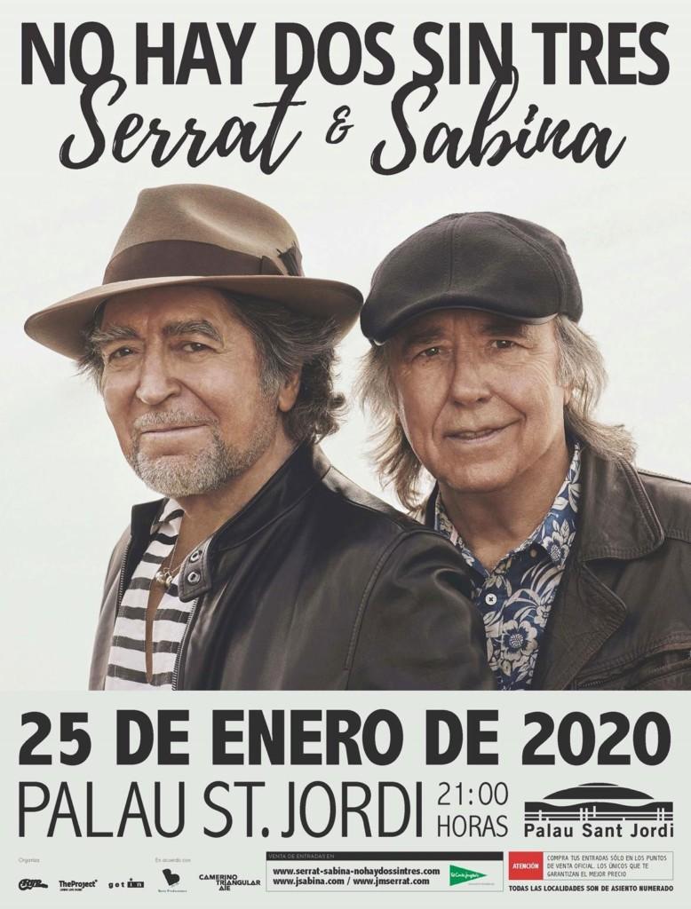 Serrat y Sabina en Barcelona